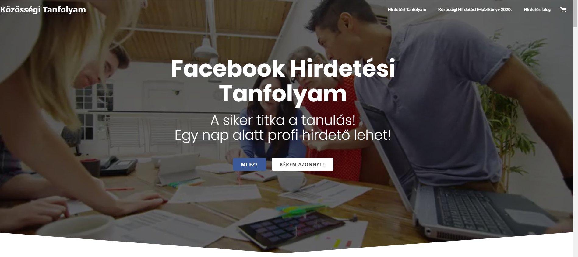 Facebook hirdetéskezelő